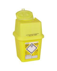 Sharpsafe® Abfallcontainer eckig, 4 Liter