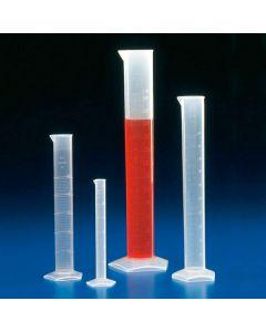 Messzylinder graduiert, hohe Form, Polypropylen, 10ml