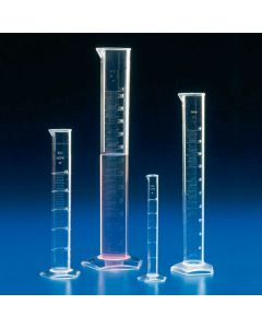 Messzylinder graduiert, hohe Form, TPX, 50ml