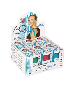 AQ-Tape Kinesiologie Tape PainMate, 2,5 cm x 5,5 m, verschiedene Farben