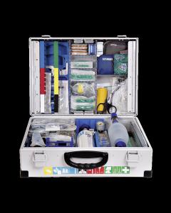 Notfallkoffer Clinomed nach DIN 13232 gefüllt für Kinder + O2