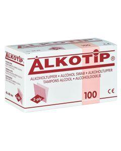 Alkotip® Alkoholtupfer 45 x 83 mm, 100 Stück