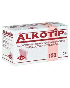 Alkotip® Alkoholtupfer 90 x 110 mm, 100 Stück