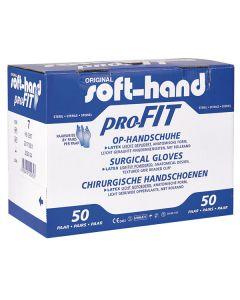 Soft-Hand Latex OP Handschuhe, gepudert, 50 Paar, verschiedene Größen
