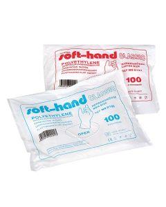 Soft-Hand Classic Handschuhe, puderfrei, 100 Stück, verschiedene Größen