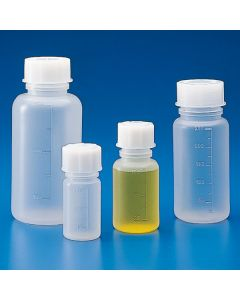 Graduierte Weithalsflasche, Polypropylen, 100ml
