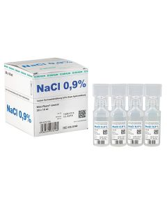 Isotone Kochsalzlösung 0,9%, 20x 10 ml Mini-Plasco