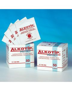 Alkotip® Protect Alkoholtupfer 60 x 30 mm, steril, 50 Stück