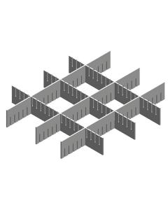 Schubladenteiler 59 x 41 x 7 cm für Praxiswagen Servocomfort Harlekin