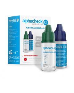 Alphacheck professional Kontrolllösung A+B, 2 x 4 ml