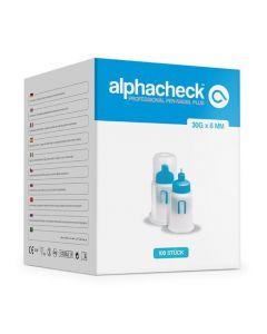 Alphacheck professional Pen-Nadeln PLUS 30 G x 8 mm, 100 Stück