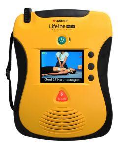 Defibtech Lifeline VIEW AED Defibrillator, halbautomatisch