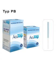 Akupunkturnadeln AcuTop® Kunststoffgriff Typ PB, verschiedene Größen, 100 Stück