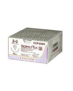 Nahtmaterial Vicryl Plus violett geflochten, verschiedene Größen, 3 x 0,45 m , 36 Stück