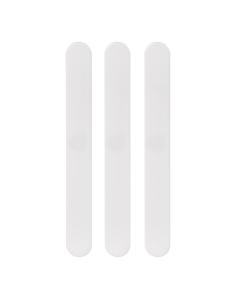 Mundspatel aus weißem Polystyrol, 100 Stück