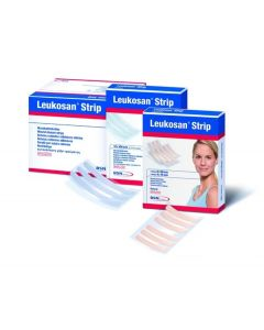 Wundverschlussstreifen Leukosan Strip 6 x 75 mm hautfarbe, 50 x 3  Stück
