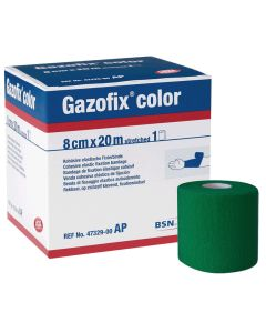 Gazofix® color latexfreie Fixierbinde, grün, verschiedene Größen und Mengen