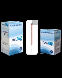 Akupunkturnadeln AcuTop® Kupfergriff Typ CB, verschiedene Größen, 100 Stück