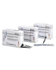 Mediware Skalpellklingen, verschiedene Figur, steril, 100 Stück