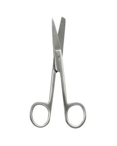 Chirurgische Schere, gebogen spitz - stumpf, verschiedene Größen