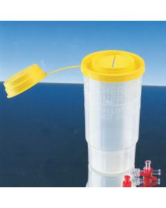 Kanülensammler Servobox Standard, transparent 1500 ml, 100 Stück
