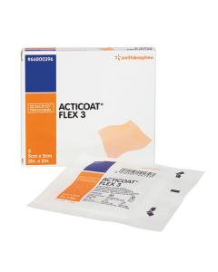 Wundverband Acticoat Flex 3 silberbeschichtet, verschiedene Größen, 5 Stück