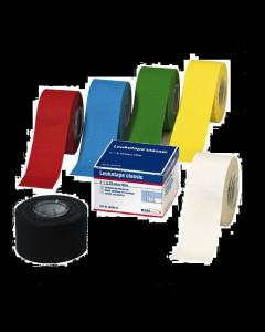 BSN Leukotape® Classic in Faltschachtel, 3,75 cm x 10 m, 5 Rollen, verschiedene Farben