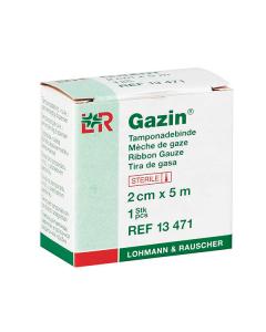 Lohmann & Rauscher Tamponadenbinde Gazin steril verschiedene Größen, 1 Stück