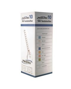 Urinteststreifen Medikotest 10, 100 Stück