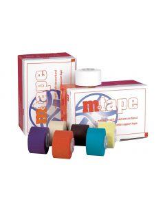 M.tape, unelastischer Stützverband, 3,75 cm x 10 m, verschiedene Farben