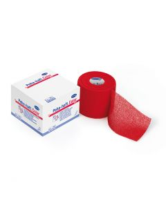 Peha-haft® color latexfreie Fixierbinde, rot, 1 Stück, verschiedene Größen