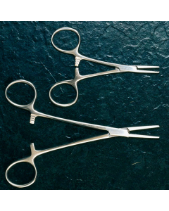 Mosquitoklemme - nach Halstead, gerade - chirurgisch, 12,5 cm, 1 Stück