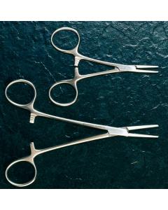 Mosquitoklemme - nach Halstead, gebogen - chirurgisch, 12,5 cm, 1 Stück
