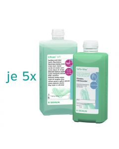 5x Softa-Man® 500 ml + 5x Lifosan® Soft 500 ml
