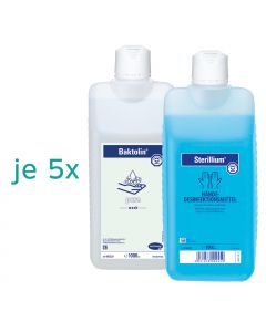 5x Sterillium® 1000 ml + 5x Baktolin® Pure 1000 ml