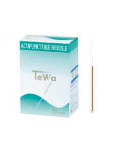 Akupunkturnadeln TeWa Kupfergriff Typ CB, verschiedene Größen, 100 Stück