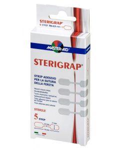 Wundnahtstreifen Master AID in Knochenform steril, verschiedene Größen 5 Stück