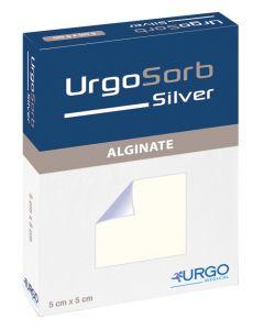 UrgoSorb Silver Tamponade 30 cm x 2,5 cm, 5 Stück