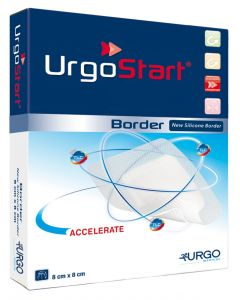 UrgoStart Border Schaumstoffkompresse 10 Stück, verschiedene Größen