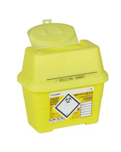 Sharpsafe® Abfallcontainer eckig, 2 Liter