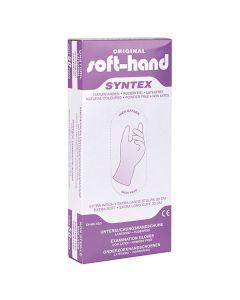 Soft-Hand Syntex Handschuhe lang, puderfrei, 50 Stück, verschiedene Größen