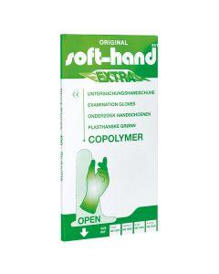 Soft-Hand Copolymer Extra Handschuhe, 100 Stück, verschiedene Größen