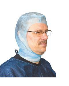 Einmal OP Haube / Chirurgenhaube Astronaut, blau, 100 Stück