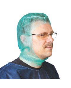 Einmal OP Haube / Chirurgenhaube Astronaut, grün, 100 Stück