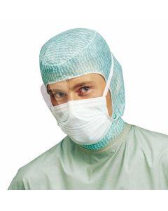 Einmal OP Haube / Chirurgenhaube Modell Astronaut, grün, 100 Stück