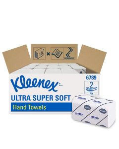 Einmalhandtücher Kleenex® Ultra, 2-lagig, 21,5 x 21,5 cm, 2790 Stück