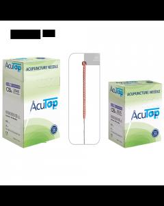 Akupunkturnadeln AcuTop Kupfergriff Typ CB verschiedene Größen 100 Stück
