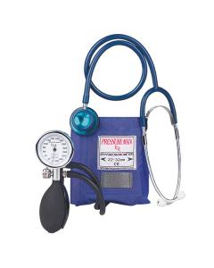 Blutdruckmessgerät Pressure Man ll Chrome Line mit Stethoskop, verschiedene Farben