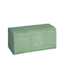 Einmalhandtücher Grün, 1-lagig, 5000 Stück