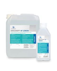 Descosept AF Lemon Flächendesinfektionsmittel, verschiedene Größen